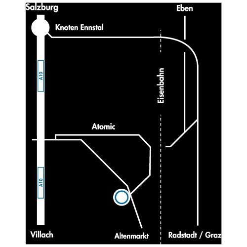 Lageplan Anfahrt Installateur Dolschek